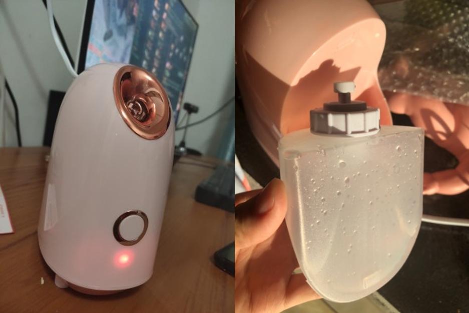 蒸臉機使用方法